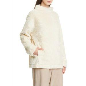 Eileen Fisher funnel neck fleece